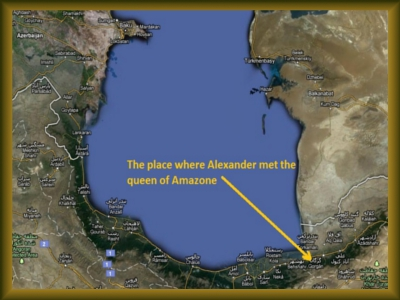 Alexander the great and Queen of sheba